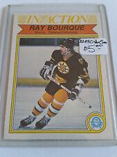 1982-83 O-Pee-Chee #24 Ray Bourque IA : Boston Bruins