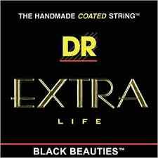 DR Strings BKE11 DR Black Beauties Extra Lite Strings