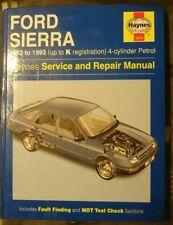 HAYNES MANUAL FORD SIERRA 1982-1993 (to K Reg) 4-CYLINDER PETROL  (170031)
