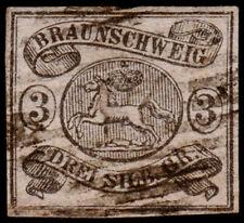 Germany - Brunswick Scott 10 (1852) Used F-VF, CV $80.00 C