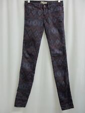 Free People - Aztec Tribal Geo IKAT Skinny Jeans  (Pre-owned)  Size 24