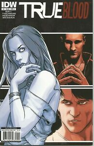 True Blood #1-6 by Alan Ball & D Tischman (IDW, 2010) ikon collectables covers