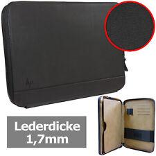 HP Notebooktasche [ Außen: Echtes Leder / Innen: Kunstleder]  Laptop Schutzhülle