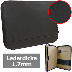 HP Notebooktasche [Außen: Echtes Leder / Innen: Kunstleder] max. 14 Zoll 35,56cm