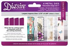 SALE New Die'sire Crafter's Companion Dies -Decorative Edge Set 1