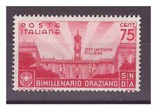 5REGNO 1936  -  ORAZIO   CENTESIMI  75   NUOVO  **
