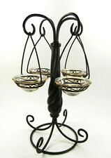 Partylite Global Fusion Hanging Tealight Tree Candle Holder P8371 (no box)