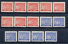 Postfrische Briefmarken aus Böhmen & Mähren (bis 1945)