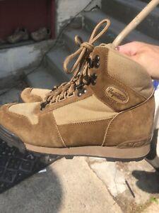 Vasque Unisex Hiking Boots 7523 Tan Suede Women's US 9.5 Men's 8.5