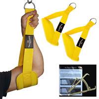 Bauchmuskelschlaufen, Gut-Blaster-Slings GELB + Körperfettmesszange NEU