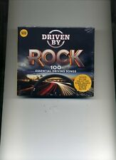 DRIVEN BY ROCK - STATUS QUO THIN LIZZY MOTORHEAD URIAH HEEP - 5 CDS - NEW!!