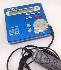 MiniDisc Sony MZ-R70 MD Walkman Digital Recording Portable w/ Headphones