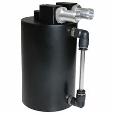 SAAS ST1005 500cc OIL CATCH CAN BLACK 4x4 WITH FITTINGS
