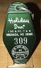 Vintage Holiday Inn Hotel Room Key And Fob Grenada, Miss. Rm#309