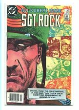 SGT. ROCK #395 HI GRADE STUNNING KUBERT COVER CANADIAN PRICE VARIANT