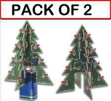 (PACK OF 2) VELLEMAN MK130 3D XMAS TREE DIY KIT (soldering kit)