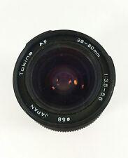 Tokina 28-80mm 1:3.5-5.6 Auto Focus Lens Free Shipping