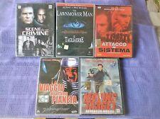 DVD LOTTO 5 FILM  (AZIONE/FANTASCIENZA)    NUOVI-SIGILLATI