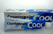 2X Counterpain Cool Cold Analgesic Gel 120g Massage Muscle Pain Tension Relief