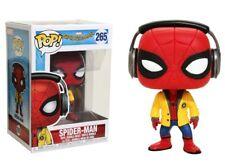 Spider-Man Homecoming with Headphones Pop! Funko Marvel Vinyl Figure n° 265