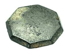 Dug 1700s Spanish naval button octagonal type from St. Augustine Florida