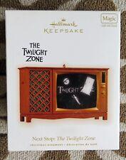 The Twilight Zone- Tv set Ornament w/ Magic sound & lt-Hallmark Ornament 2009
