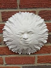 Large Mystical Sun Face Plaster Wall Hanging Decorative Plaques New Nautical