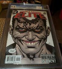 Justice League Elite #5 cgc 9.8