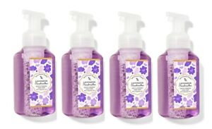 Bath & Body Works Lavender Marshmallow Gentle Foaming Hand Soap 8.75 ox -x4