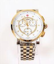 MICHELE MWW01K000119 Sport Sail Diamond Quartz Two Tone Steel 42mm Watch