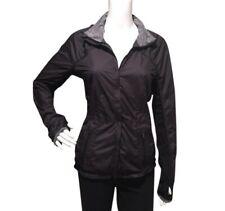 Lululemon Black Gray Jacket Windbreaker Size 6 Scalloped Pockets