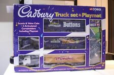 Corgi Cadbury Truck Set Scania & Volvo & Playmat 60007