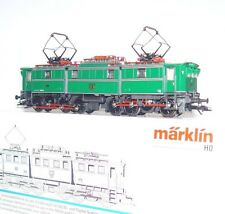 Marklin AC DIGITAL HO 1:87 German DR AEG E91 ELECTRIC LOCOMOTIVE Green MIB RARE