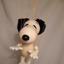 Pelham puppets  Snoopy  Peanuts original Box Hand made In England