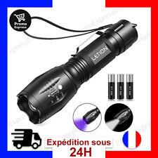 Lampe torche LED et Lampe de poche UV Lampe torche puissante tactique Transport