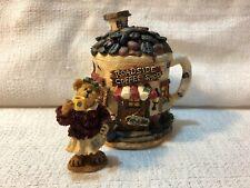 Boyds Bear Villages Route 33 1/3 Caffeinas Cuppa Joe 2E Figurine Village 19907
