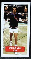 TENNIS - USA - ARTHUR ASHE - Score 'Champions of World Sports' trade card