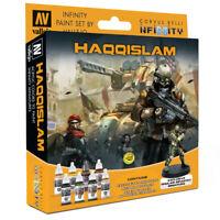 Haqqislam Vallejo Paint Set - Infinity Wargame Corvus Belli - Brand New VAL70237
