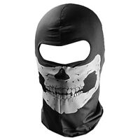 Skull Balaclava Ghost Ski Face mask Skeleton Paintball Airsoft Head Protect US