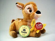 NEW Disney Hallmark Bambi Butterfly Talking Stuffed Plush Toy Magnetic Nose