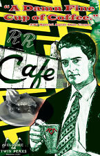 """Twin Peaks Agent Cooper """"A Damn Fine Cup of Coffee"""" 11 x 17 High Quality Poster"""
