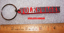 """RED VW VOLKSWAGEN KEY CHAIN 3 """" LONG FREE SHIPPING"""