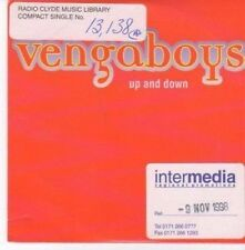 (BC180) Vengaboys, Up And Down - 1998 DJ CD