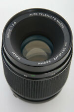Vivitar 90mm f2.8 Auto Telephoto Macro Lens Minolta MC Mount by Komine