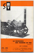 A. LEPVRAUD, BT : NAISSANCE DES CHEMINS DE FER (MAQUETTES) (1966) SUPPLÉMENT