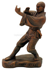 """Kungfu Series - All 4 Shaolin Monk Statues Sculpted by a Shaolin Monk 9"""" High"""