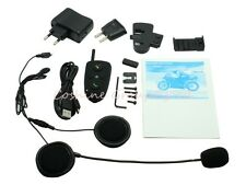 100m HM-528 2-way talk Intercom Bluetooth FM Motorcycle Motorbike Helmet H1