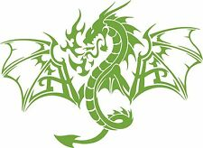 Dragon Mythology Mythical Creature Car Truck Window Laptop Vinyl Decal Sticker