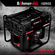 Böhmer-AG INVERTER generatore benzina i5000W 3.0KW 3.8kVA Silenzioso Elettrico Portatile