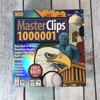 Vintage Masterclips 1,000,001 Clip Art 28 CDs Windows 95 98 PC Cd Rom Software
